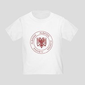 Vintage Albania Toddler T-Shirt
