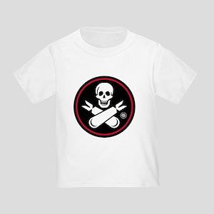 Jolly Rogers Nose Art Toddler T-Shirt