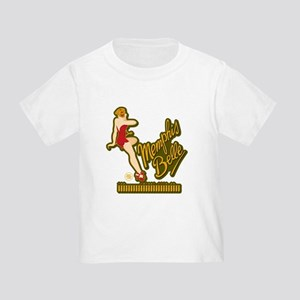 Memphis Belle (Red) Pin Up Toddler T-Shirt