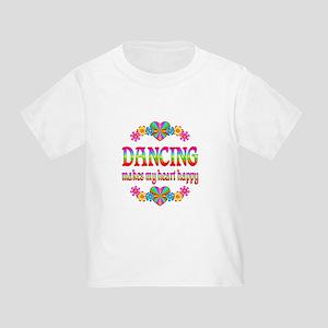 Dancing Happy Toddler T-Shirt