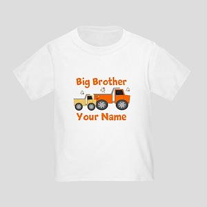 Big Brother Truck Toddler T-Shirt