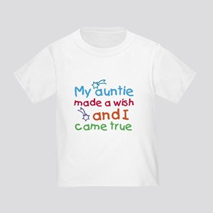 My Auntie made a wish Toddler T-Shirt