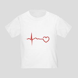Heartbeat Toddler T-Shirt
