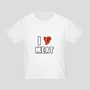 I Heart Meat Toddler T-Shirt