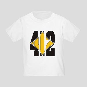 412 Black/Gold-W Toddler T-Shirt