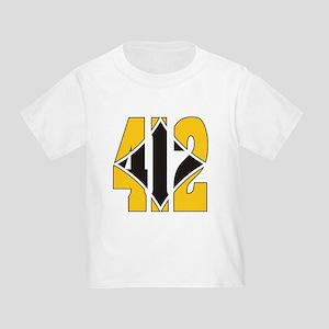 412 Gold/Black-W Toddler T-Shirt