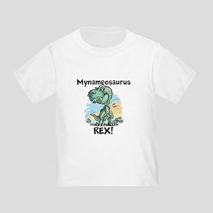 Personalizable Rex Toddler T-Shirt