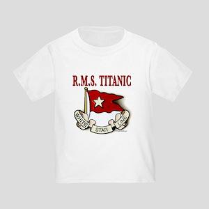 White Star Line: RMS Titanic Toddler T-Shirt