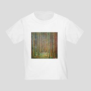 Gustav Klimt Pine Forest Toddler T-Shirt