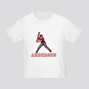 Personalized Baseball Toddler T-Shirt