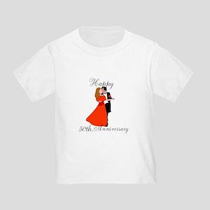 Custom Anniversary Toddler T-Shirt