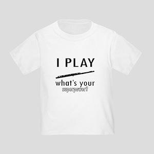 Cool Flute Designs Toddler T-Shirt