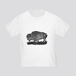 B@W Buffalo Toddler T-Shirt