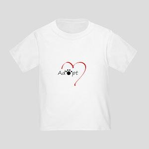 Adopt Toddler T-Shirt