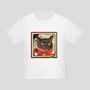 Sable Burmese Xmas, frame 3 Toddler T-Shirt
