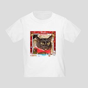 Sable Burmese Xmas, frame 4 Toddler T-Shirt