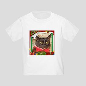 Sable Burmese Xmas, frame 5 Toddler T-Shirt
