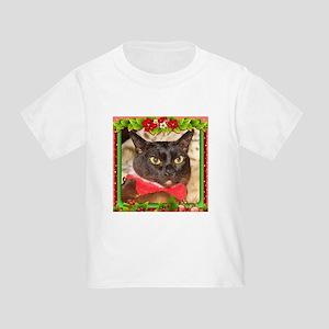 Sable Burmese Xmas, frame 7 Toddler T-Shirt
