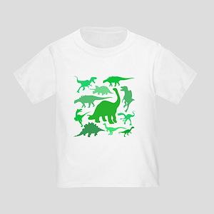FUN! LOTS of DINOSAURS! Toddler T-Shirt