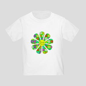 Cool Flower Power Toddler T-Shirt