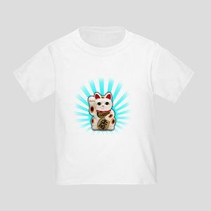 Lucky Cat (Maneki-neko) Toddler T-Shirt