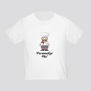 Personalized French Chef Toddler T-Shirt