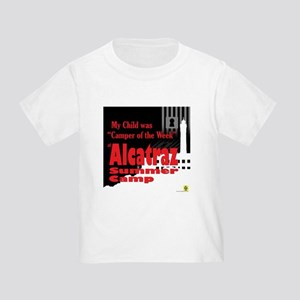 Alcatraz Summer Camp Toddler T-Shirt