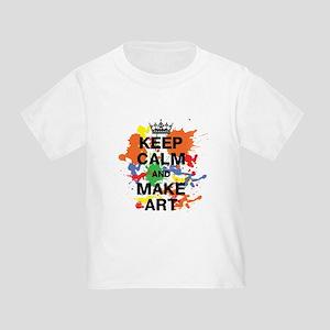 Keep Calm and Make Art T-Shirt