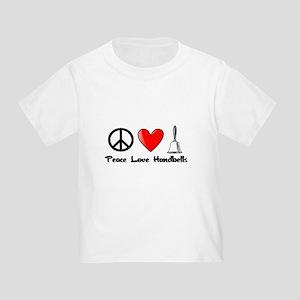 Peace, Love, Handbells T-Shirt