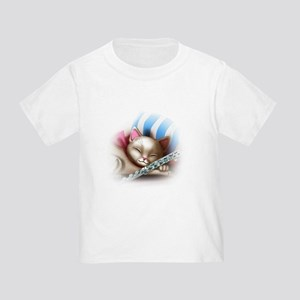 Napping Cat and Flute T-Shirt