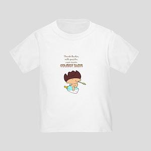 Cowboy Baby Toddler T-Shirt