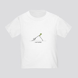 Yoga Exhale Toddler T-Shirt