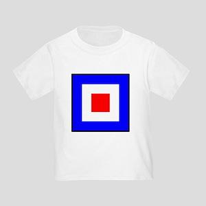 Nautical Flag Code Whiskey T-Shirt