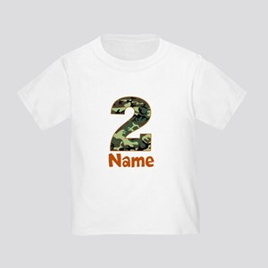 2nd Birthday Camo T-Shirt