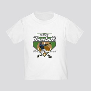 Personalized Home Run Time Toddler T-Shirt