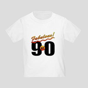 Fabulous At 90 Toddler T-Shirt