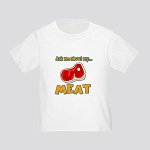 Funny Ask Me About My Meat Steak Butcher Humor Tod
