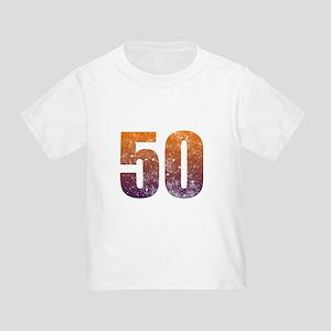 Cool 50th Birthday Toddler T-Shirt