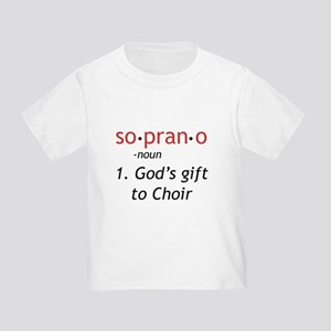 Soprano Definition Toddler T-Shirt