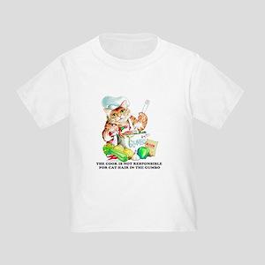 Cajun Cat Chef Toddler T-Shirt