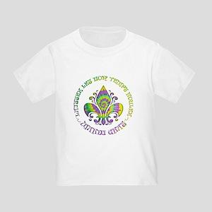 Fleur de Laissez Toddler T-Shirt