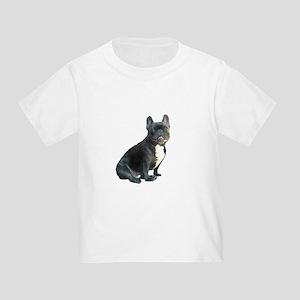 French Bulldog (blk)1 Toddler T-Shirt