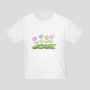 Custom Cute Flowers T-Shirt