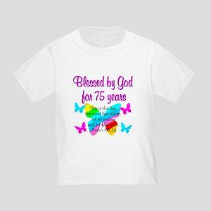 75 YR OLD ANGEL Toddler T-Shirt