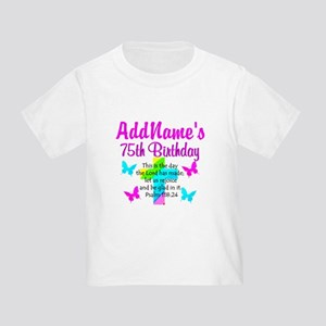 75TH CHRISTIAN Toddler T-Shirt