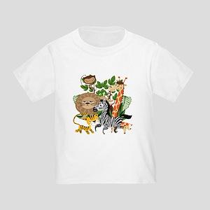 Animal Safari Toddler T-Shirt
