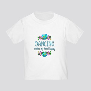 Dancing Heart Happy Toddler T-Shirt