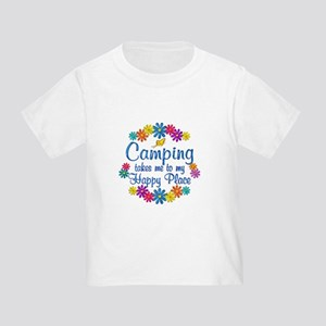 Camping Happy Place Toddler T-Shirt