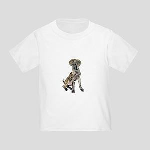 Brindle Great Dane Pup Toddler T-Shirt