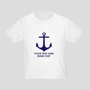 Nautical boat anchor T-Shirt